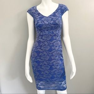 NY& Co Blue Lace Dress